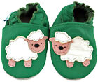 MINIFEET SOFT LEATHER BABY / PRAM SHOES 0-6,6-12,12-18,18-24 Mth & 2-3 Yrs Sheep
