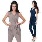 NEW Womens Sexy Summer One Piece Leggings Playsuit Jumpsuit Rompers XS S M L XL