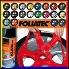 2 Spray FOLIATEC Vernice Removibile 400ml Pellicola Wrapping Tuning Cerchi Auto