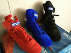 NIB Sparco Top 2 Suede / Leather Driving Shoes Blue Sizes 42 / 46 Nomex
