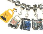 HALLOWEEN TRICK OR TREAT CANDY BAG CHARM FITS EUROPEAN BRACELETS - BUY 2 GET 1 F