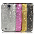 Samsung Galaxy S4 luxury Crystal Cubic Smartphone Hard Case Cover_SILVER etc