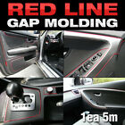 Edge Gap Red Line Interior Point Molding Accessory Trim 5meter for VW Passat CC