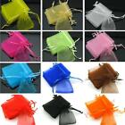 70x90mm Plain Simple Bag Organza Wedding/Jewelry/Gift Favor Pouch 12 Colors Pick