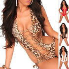 Women's Lace-Up One Piece Monokini Swimsuit Bathing Suit - S/M/L/XL