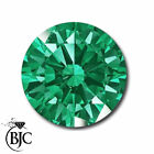 BJC® Loose Green Round Cut Natural Colombian Emerald Stones 2.00mm - 3.75mm