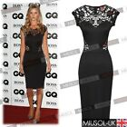 New Women's Ladies Sexy Lace Bodycon Party Pencil Cocktail Dresses Size810121416