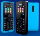 Nokia 105 - Cyan Blue-Black-Red (Unlocked) Mobile Phone Cheap Sim Free UK STOCK