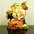 New Coloured Good Luck Oriental Chinese Handmade Laughing Lucky Buddha Figure