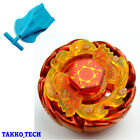 METAL BEYBLADE Fusion Fight Masters+BLUE AUTO RETRACT SINGLE STRING LAUNCHER TOY
