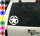 Army Star Vinyl Car Window Decal Military Pride Soldier Marine Sticker ANY SIZE