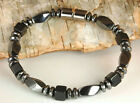 Men's Women's Onyx Stones & black Magnetic Hematite Bracelet DISCOUNTED ~SALE