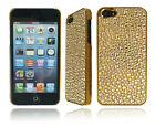 NEW STYLISH CHROME DIAMOND PHONE BLING BACK CASE COVER FOR APPLE I PHONE 5 5G