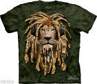The Mountain DJ Jahman Lion Headphone Face Adult T-Shirt Print In USA MT38