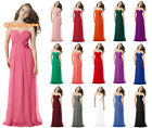 New Chiffon Prom/Bridesmaid Party Evening Dresses Formal Dance Cocktail Sz 6-26