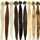 "50 Strands 22""(55cm) Nail tipped 100% Human Hair Extension hair001"