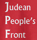 Judean Peoples Front T Shirt - Monty Python - Funny Tee -  Life of Brian