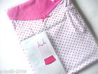 MARKS & SPENCER VEST & SHORT PYJAMA SLEEPWEAR SET PINK-WHITE UK COTTON UK 12-18