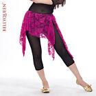 Newest 2013 Tribal Lace Belly Dance Hip Scarf Wrap Belt Skirt 12colors