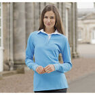FRONT ROW & CO, CLASSIC LONG SLEEVE LADIES RUGBY SHIRT 8 COLs & SIZES S - 4XL