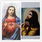 New Finished Completed Cross Stitch needlepoint - Jesus -freeshipping to USA