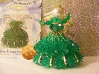 Birthstone Angel Ornament KIT  (some are clearanced,dinged packaging) Holiday