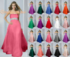New Fashion Empire Evening Gown Wedding Bridesmaid Party Prom Dresses Chiffon