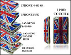 NEW ENGLAND FLAG UNION JACK DIAMOND CASE COVER FOR APPLE I PHONE 4 5 I POD TOUCH