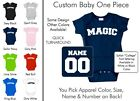 Magic Baby One Piece - Custom Name and Number, Creeper, Onesie