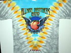 """ALLMAN BROTHERS BAND """"GIANT PEACH"""" BEACON THEATER 2005 2-SIDED TIE DYE T-SHIRT"""
