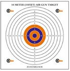 COLOURED paper air rifle AIRGUN targets AIRSOFT SHOOTING 10m 33ft Target 17cm