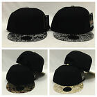 Blank Plain Paisley Foil Floral Snapback 3 Styles To Choose CUSTOM EMBROIDERY