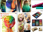 Hair Chalk Non-ToxicTemporary Pastel Colour Dye Kits, 24Pack,36Pack,48Pack NEW!