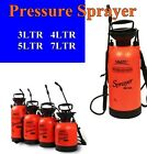 NEW 3L~7L Spray Portable Pressure Sprayer Garden Water Chemical Shoulder Strap