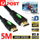 Premium HDMI Cable v2.0 Ultra HD 4K 2160p 1080p 3D High Speed Ethernet