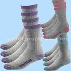Women Wolverine Socks 2 Pairs Wool Boot Sock Crew Thermal Insulating Medium 9-11