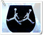 CZ Crystal Air Man Jordan Micro Paved Kite Iced Out Hip Hop Stud Earrings