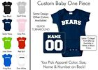 Bears Baby One Piece - Custom Name and Number, Creeper, Onesie