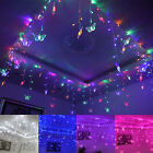 8x0.75M 192 LED Christmas Party String Fairy Butterfly Lights Home Decor 7 Color