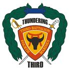 3rd Battalion 4th Marine Regiment Vinyl Decal Sticker Military Armed Forces R402