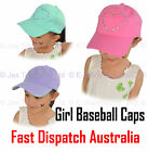 1 Kid Girl Diva diamante Love Heart Cute Baseball Sports Sun Hat Adjustable Cap