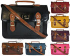 WOMENS LADIES DESIGNER LEATHER STYLE BRIEFCASE LAPTOP SATCHEL OFFICE BAG HANDBAG