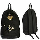 BRANDED DUNLOP RETRO SPORTS LIGHTWEIGHT BACKPACK RUCKSACK SCHOOL TRAVEL GYM BAG