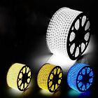 Hot 110-130V SMD 3528 Flexible LED Strip Lights 60LEDs / Meter IP65 + Plug