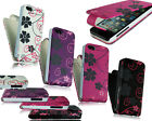 NEW STYLISH FLORAL FLOWER SERIES FLIP POUCH CASE COVER FITS APPLE I PHONE 5C