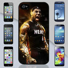 New Lebron James Miami Heat Screaming Apple iPhone & Samsung Galaxy Case Cover