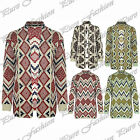 Womens Open Front Ladies Long Sleeves Knitted Boyfriend Sweater Long Cardigan