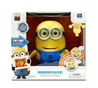 Minions Dave Animated Action Figure from Despicable Me 2 3D Blu-ray Movie Minon