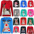 KIDS CHRISTMAS NOVELTY XMAS CHILDRENS RETRO BOYS GIRLS VINTAGE JUMPER SWEATER