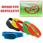 Anti Mosquito Deet Free Repellent Citronella Waterproof Silicone Wristband Ankle
